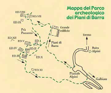 Parco monte barro il museo archeologico del barro for Piani di fattoria del vermont